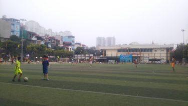 サッカー場で待ち合わせをしたベトナム人は現れるのか!?|ベトナム生活7日目