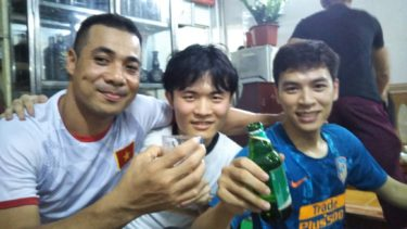 初めて実習生達と飲みに行ってみた|ベトナム生活8日目